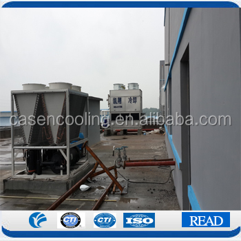 Energy Saving Counter Flow Closed Circuit Cooling Water Tower Large Chemical Industry Electric Power Cooling System Supplier