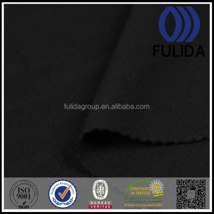 100% cotton single jersey knitted fabric for garments