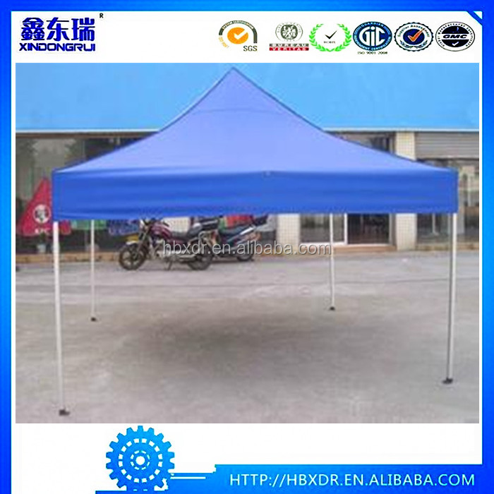 trade event display pop up 3x6 fold aluminum frame tent