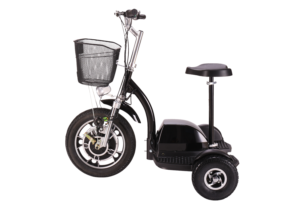 electric elder scooter with reverse gear 48v 500w 3 wheel electric scooter motor scooter trike