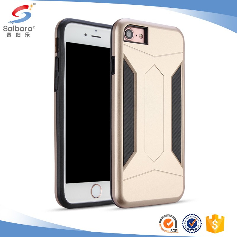 2017 New Arrival TPU + PC Hybrid Case for iPhone 7 Case