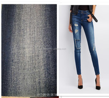 Cotton Polyester Stretch Skinny Lady Pants Bamboo Selvedge Denim Fabric