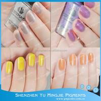 Sunlight Sensitive Nail Powder/ Photochromic Color Change Dyes for Nail Polish