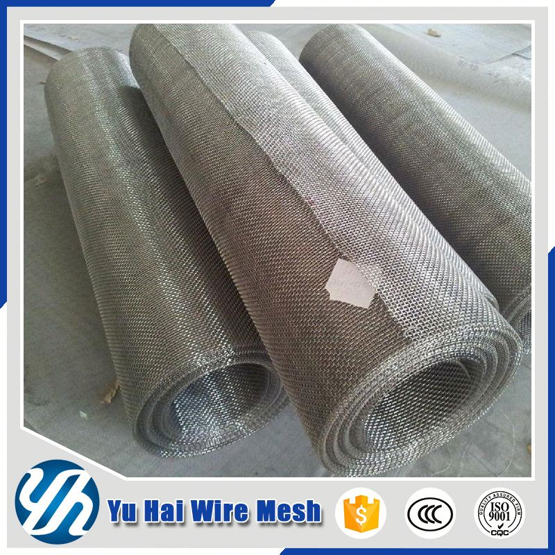 20 Micron Galvanized Stainless Steel Wire Mesh 3mm