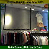 high quality Superior Quality hat display rack for retail store High end clothes display stand for shop YM07381