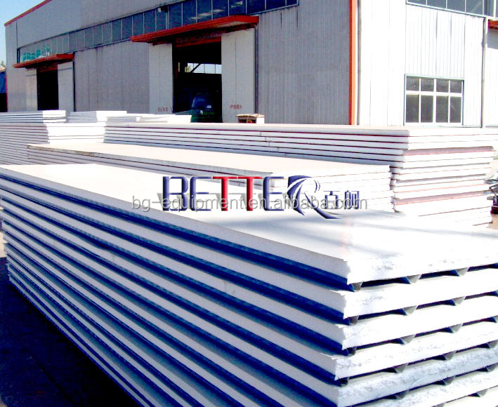 Low cost wall roof eps sandwich panels for sale buy for Low cost roofing materials