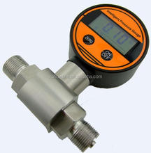 Super stable bourdon tube pressure gauge