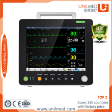 direct manufacturer Patient monitor with same quality as nikon kohden, schiller,contec, comen, mindray imec10, mec-1000,imec8, s