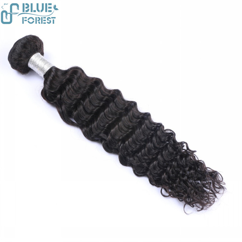 8A Full Cuticle Virgin Deep Wave,2017 blue forest New Arrival 100 % human hair weave wholesale