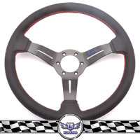 High Quality 350mm Deep Corn Car Steering Wheel Drift Steering Wheel