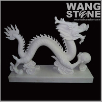 Indoor Decoration Stone Carving Dragon Sculpture