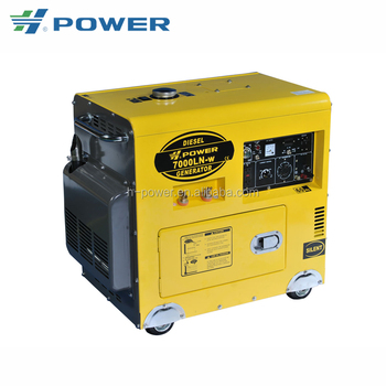 high capacity small size home use silent type diesel engine generator spare parts