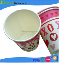 disposable cups paper cup and Strong paper cups for hot drinks