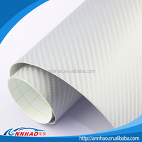 New Car Accessories Products 1.52*30m Flexible Roll 4D Carbon Fiber Vinyl Film with Air Bubble