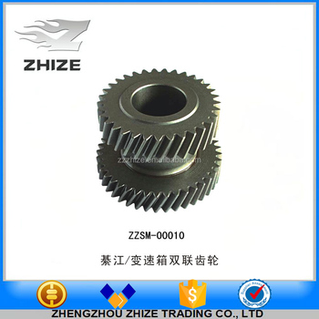 High quality and high grade bus parts double gear transmission for Transmission box