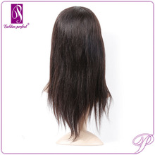 Pre Styled human hair lace frontal piece, Silk Top human hair wig lace front, Human Hair very long hair wigs