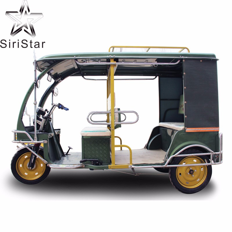 Cheaper 60V 1000W bajaj three wheeler auto electric rickshaw price in india for sale