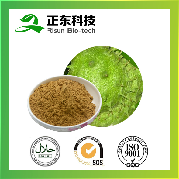 100% natural plant extract brown yellow 10% polyphenols Graviola Extract