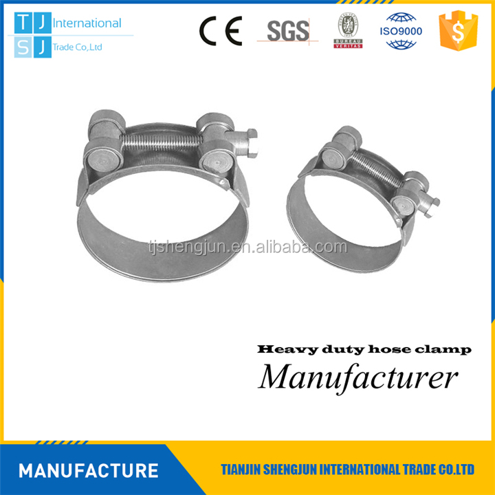 Hot selling grooved hose clamps