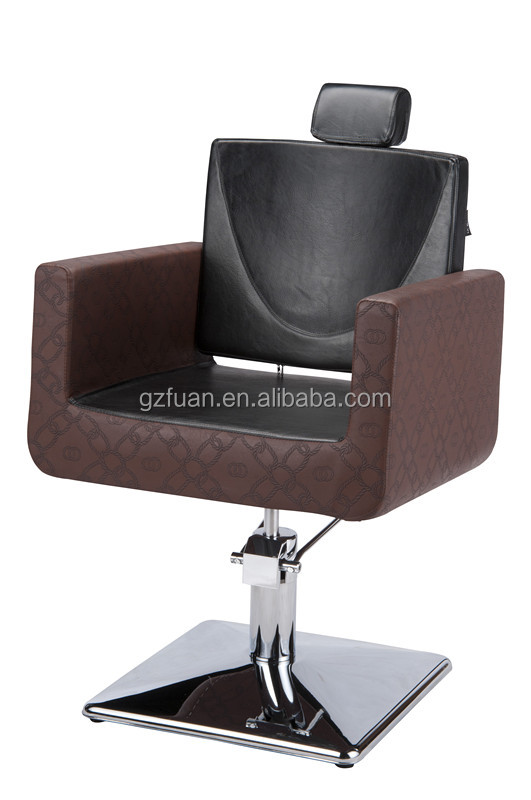 High-level Black Salon Hairdressing Barber Chair