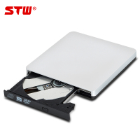 High Quality Black Portable External USB 3.0 DVD Combo DVD-ROM CD-ROM Disk Drive CD Burner Recorder for Laptop mini PC