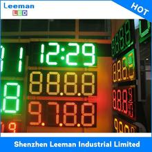 led shop gas price signage LEEMAN RGB economic gym digital timer with large led display