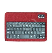 ILINK leather case bluetooth keyboard arabic keyboard cover for ipad mini