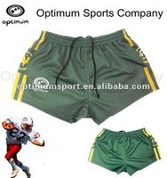 customized sublimation polyester small boy size rugby shorts