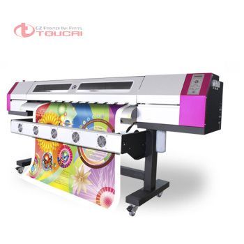 Classical Galaxy 5ft-10ft 1440dpi 1or 2pcs dx5 printhead eco solvent inkjet printer