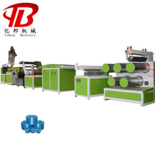 PP Plastic Tape Drawing Stretching split film Extruding Machine