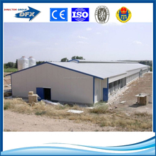 Prefabricated steel chicken poultry farm in india