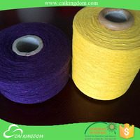 Leading manufacturer sock yarn cotton poly spandex strench fabric