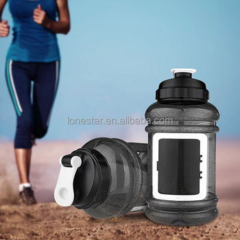 Best selling 2.2L BPA free plastic water bottle for sports with LFGB certificate in CA