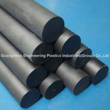 black PPS plastic round rod PPS bar manufacturer