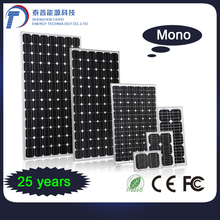 Max Power Current 8.47A Mono Cells Conversion 320W Solar Panel Battery With 900m TUV Cable