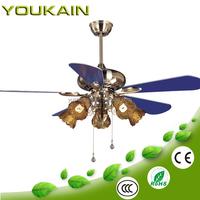48 inch blue blades&lights modern ceiling fan home depot