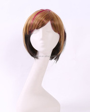 pc330 brown short male wigs,cosplay male wigs