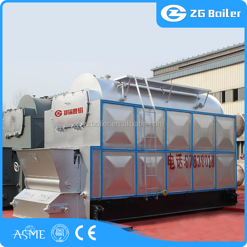 IBR design steam sunflower husk boiler