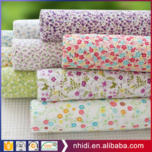 wholesale extra wide textile printed 100% cotton fabric for bed sheets