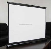 Star View Projector Screen Mini Pull-down Portable Projection Screen