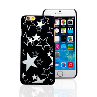 2016 hot sell phone case stars pattern for iphone 6 plus,for iphone glow mobile phone case