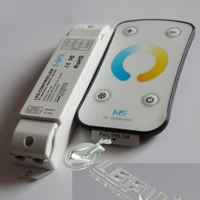 Color Temperature Touch LED Dimmer Remote Controller, 3CH*3A,DC12-24V,Max Output power 108W/216W (12V/24V)
