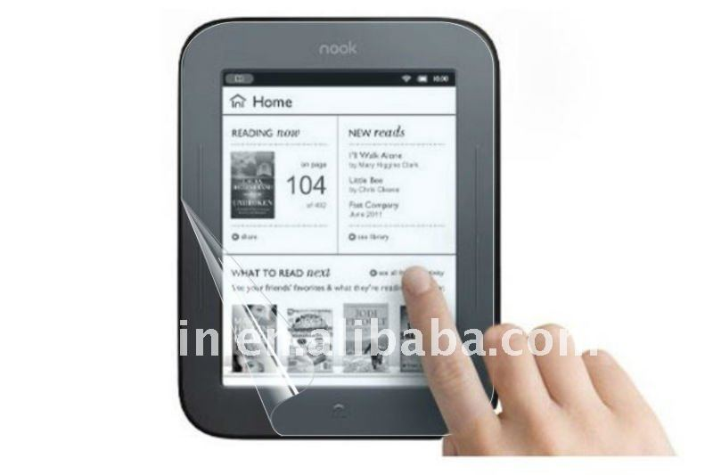 New clear Screen Protector for Barnes & Noble Nook Touch ,matte screen cover for nook 2