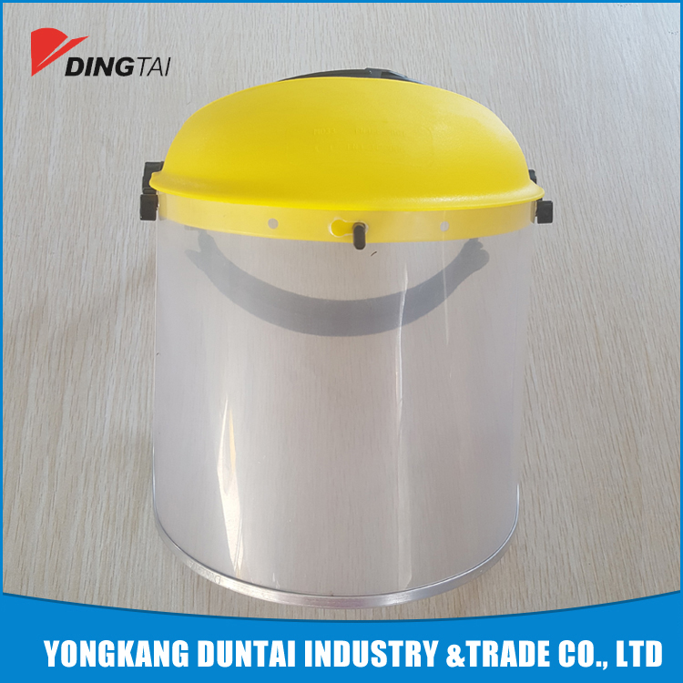 high quality custom face protection shield for spray PVC face mask