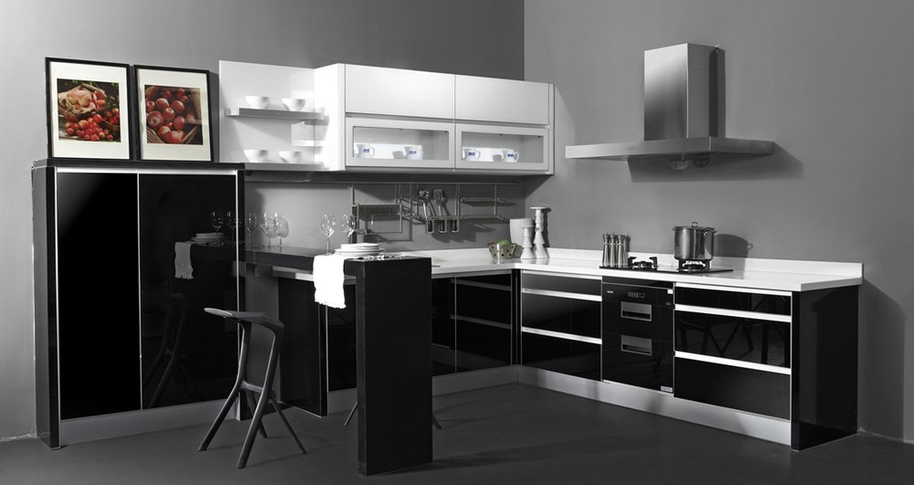 2015 top quality smart modular small kitchen designs for for Smart small kitchen ideas