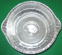 Household aluminium foil container/vessel/tray