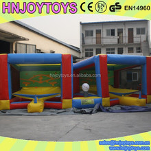 Amazing top sale mini golf games,mini inflatable golf games for sale
