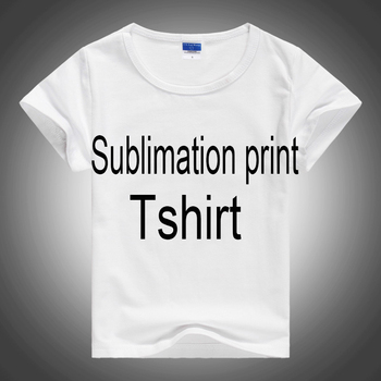 whosale polyester cheap blank T shirt for sublimation