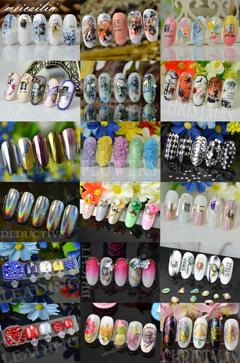 Clear Crystal Glass Stones SS3-SS10 Multi Small Sizes Nail Art Flat Back Rhinestone For Nails 3D Nail Art