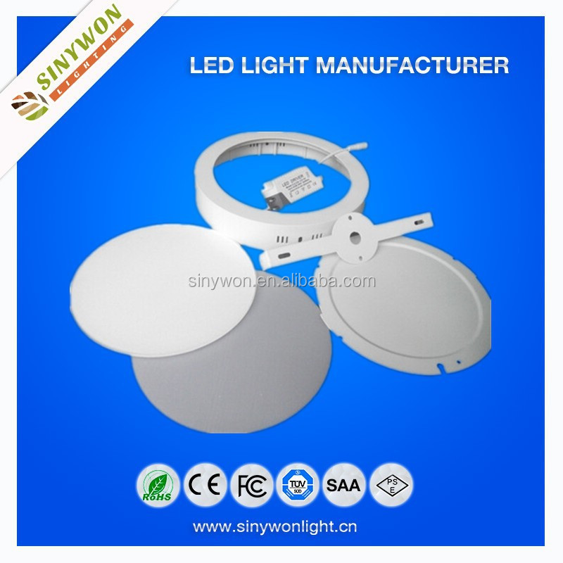 High Standard Round/Square ckd/skd Panel Led Light